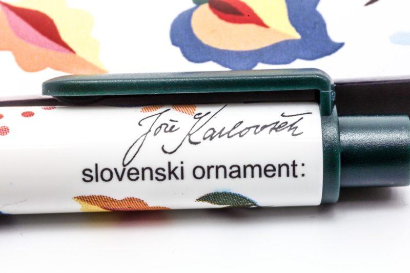 Roler Slovenski ornament Jože Karlovšek