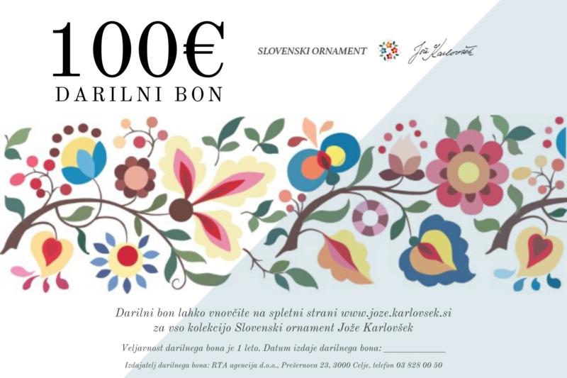 Darilni boni kolekcije Slovenski ornament